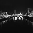 Dublin City at Night - March 2016 by Zak Milofsky