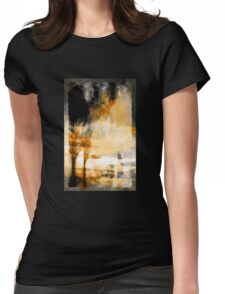 Angel of the Valley Womens Fitted T-Shirt