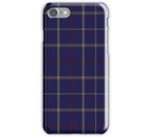 00470 Tattersall Blue Fashion Tartan  iPhone Case/Skin