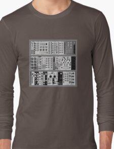 Eurorack Modular 9U T-Shirt Long Sleeve T-Shirt