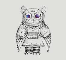 Futuristic Mechanical owl Unisex T-Shirt