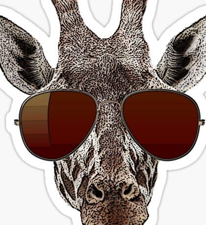 cool giraffe is cool   Sticker