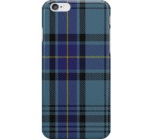 00484 Hannay Blue Clan/Family Tartan  iPhone Case/Skin