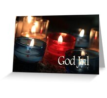 God Jul - Swedish Christmas Greeting Card