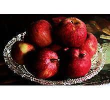Still Life Apples Photographic Print