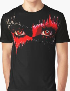 Harley Quinn Inspired Eyes Graphic T-Shirt