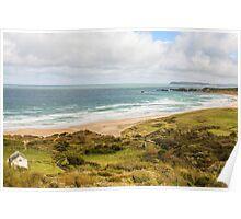 Whitepark Bay, Northern Ireland Poster