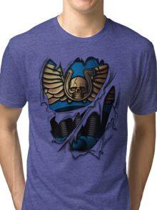Ultramarines Armor Tri-blend T-Shirt