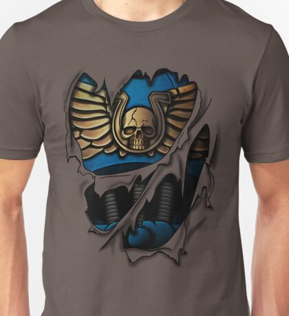 Ultramarines Armor Unisex T-Shirt