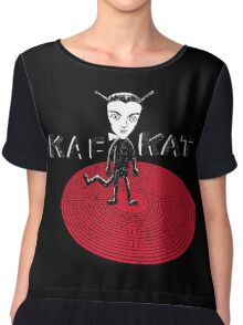 Kafka Cat Metamorphosis Women's Chiffon Top