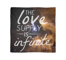 The Love Supply is Infinite: Space Edition Scarf