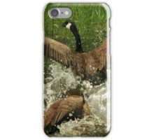 Dominant Goose fight iPhone Case/Skin
