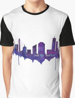 Real Life, Real Love...in Boston Graphic T-Shirt