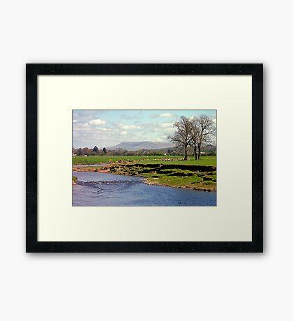 Ribble & Pendle Framed Print