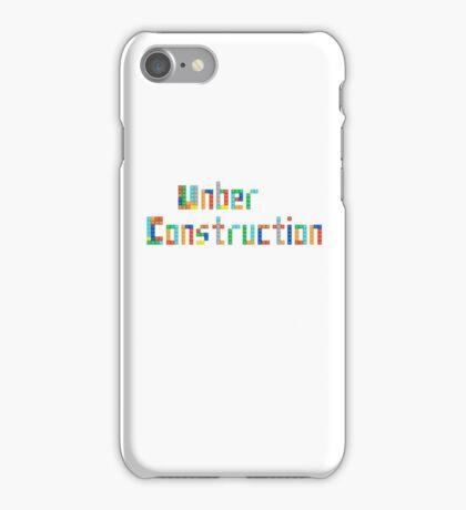 Under construction iPhone Case/Skin