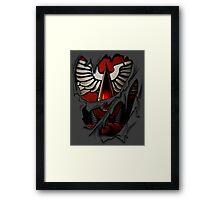Blood Angels Armor Framed Print