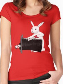 Rabbit vs. Magician Women's Fitted Scoop T-Shirt