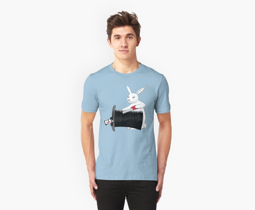 Rabbit vs. Magician by SusanSanford
