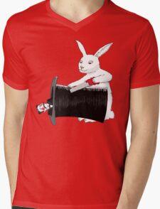 Rabbit vs. Magician Mens V-Neck T-Shirt