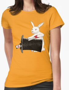 Rabbit vs. Magician Womens Fitted T-Shirt