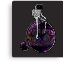 PENNY FARTHING SPACE CYCLE Canvas Print