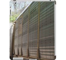 Freight Train Entering a Tunnel, Jersey City, New Jersey iPad Case/Skin
