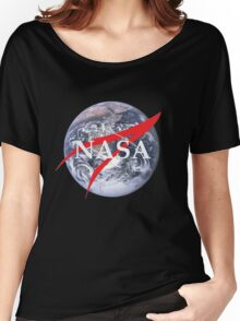 Earth NASA Women's Relaxed Fit T-Shirt