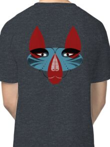 Coyote the Trickster in red, black and white Classic T-Shirt