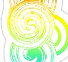 Colorful Retro shape Sticker