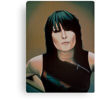 Chrissie Hynde Painting Canvas Print