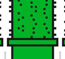 3 many pattern design pixel nerd geek gamer videogame 2d 8 bit cactus design games zocken Sticker