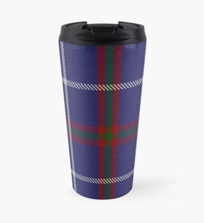 00493 MacHardy Blue Clan/Family Tartan Travel Mug