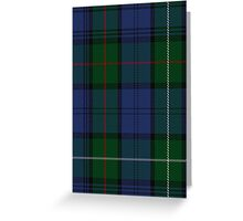 00494 MacKenzie (Vestiarium Scoticum) Clan/Family Tartan  Greeting Card