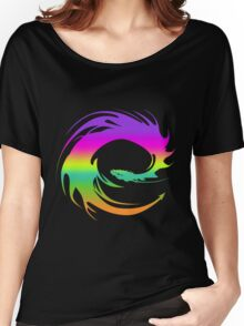 Colorful Eragon Dragon Women's Relaxed Fit T-Shirt