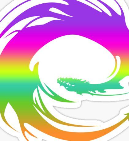 Colorful Eragon Dragon Sticker