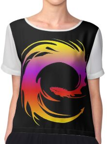 Colorful dragon - Eragon Chiffon Top