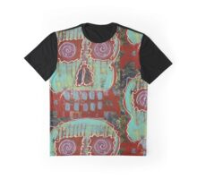 Primitive Skull Graphic T-Shirt