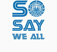 SO SAY WE ALL Mens V-Neck T-Shirt