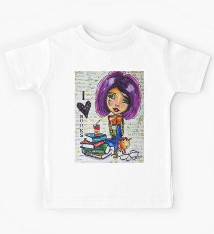 I Love Books 2 Kids Tee