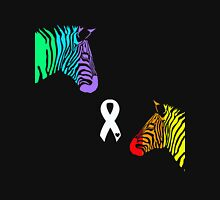 Zebras Ribbon Unisex T-Shirt