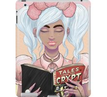 Girls read comics too! Crypt iPad Case/Skin