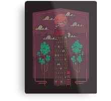 The Towering Bed and Breakfast of Unparalleled Hospitality Metal Print