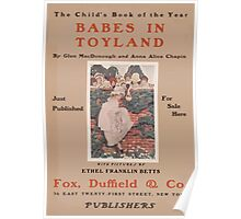 Artist Posters Babes in toyland by Glen MacDonough and Anna Alice Chapin 0425 Poster