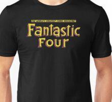 Fantastic Four - Classic Title - Clean Unisex T-Shirt