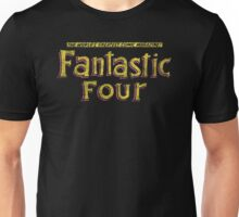 Fantastic Four - Classic Title - Dirty Unisex T-Shirt
