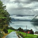 Below the Clouds in Norway by Larry Lingard-Davis