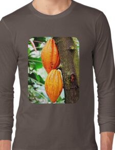 Cacao Fruit  Long Sleeve T-Shirt