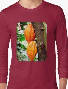 Cacao Fruit  Long Sleeve T-Shirt