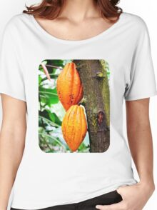 Cacao Fruit  Women's Relaxed Fit T-Shirt