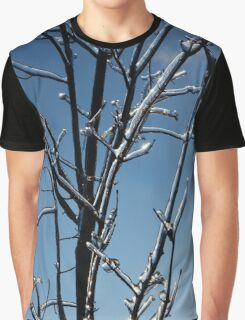 Mother Nature's Christmas Decorations - Icy Twig Jewels Graphic T-Shirt